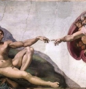 Pillar2-Supernatural-GodCreates-Man-Sistine-Chapel