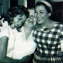 مقابلة قديمة مع تحية كاريوكا وسامية جمال