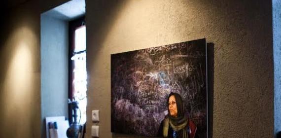"""معرض """"وجوه من غزة"""" للمصور بلال خالد من غزة يكسر الحواجز ويعرض في حيفا"""