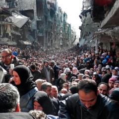 صورة العام 2014: مخيم اسمه اليرموك/ علاء حليحل