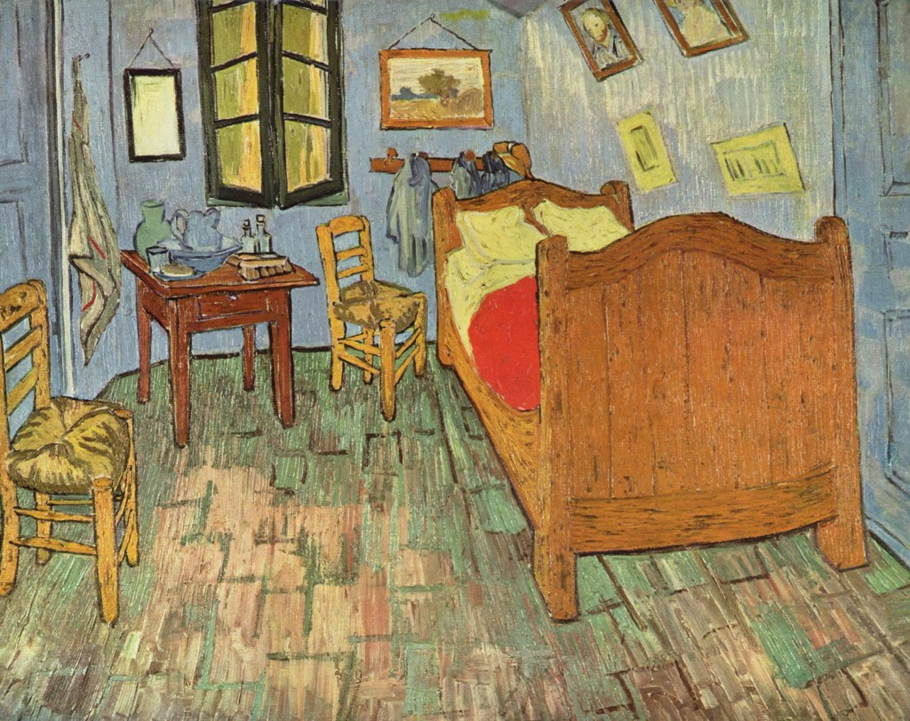 """لوحة """"غرفة النوم"""" لفان غوخ"""