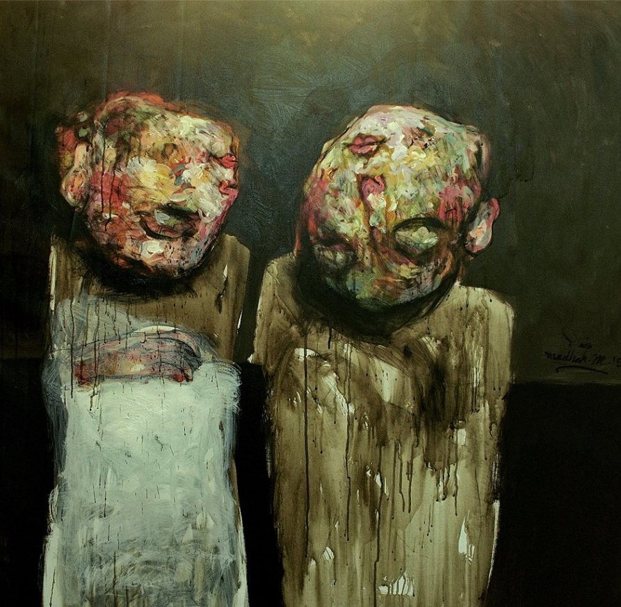 بريشة الفنان العراقي وضّاح مهدي
