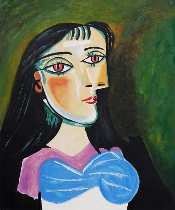 بابلو بيكاسو، بورتريه امرأة