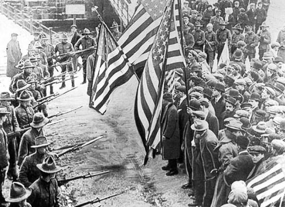 إضراب عمال النسيج عام 1912، ولاية ماساشوستس، الولايات المتحدة الأمريكيّة