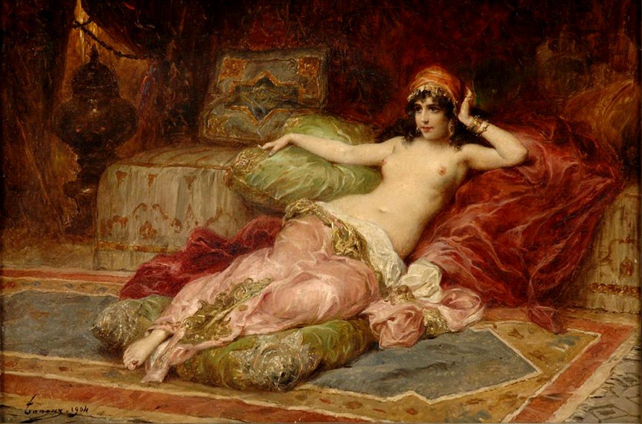 The Athenaeum - The Favorite (Henri Adrien Tanoux)