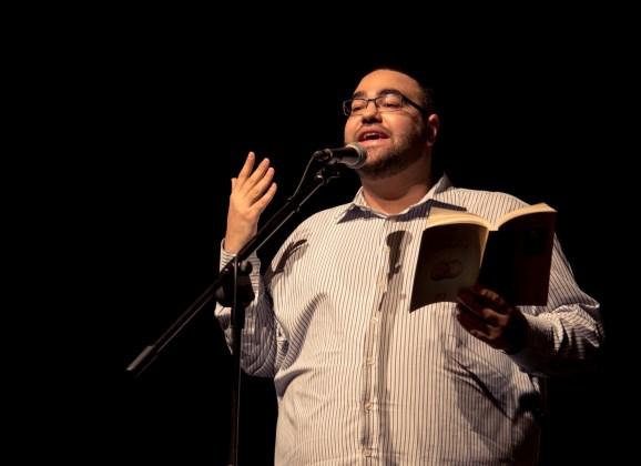 الشاعر علي مواسي في الأمسية