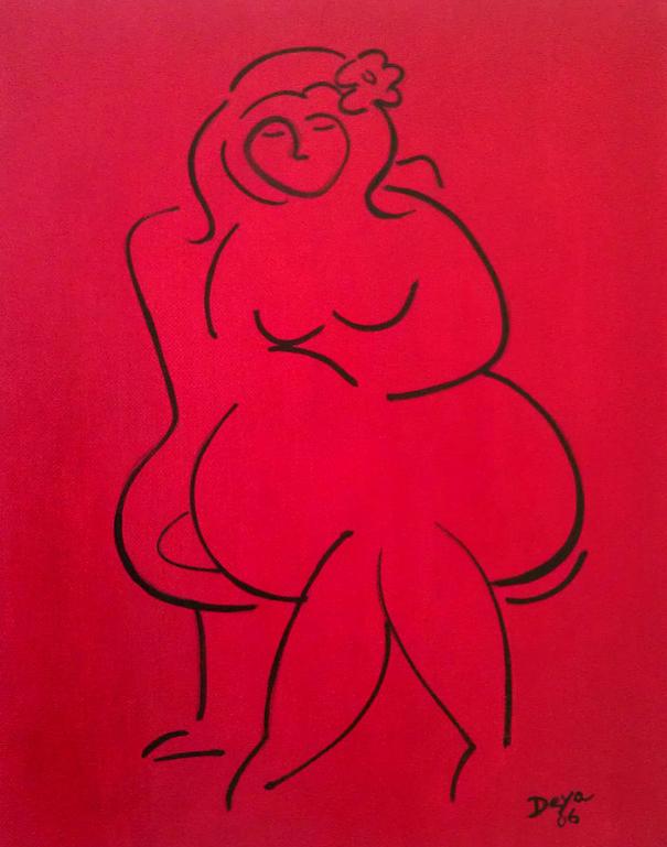 """ديانيرا هاريس، """"امرأة بدينة"""""""