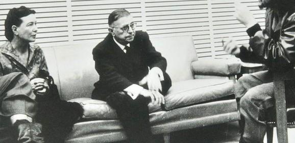 سيمون دي بوفوار وجان بول سارتر في كوبا/ هشام روحانا